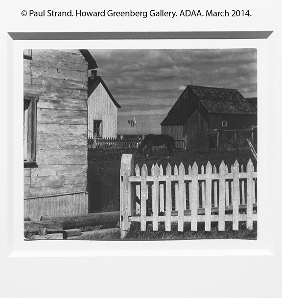 Paul Strand_Howard Greenberg Gallery_AIPAD_March 2014