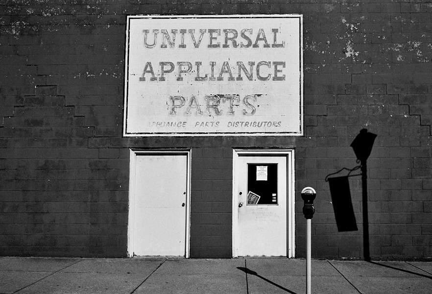 Universal Appliance Parts, Wheeling, West Virginia, 2012 : SEEN AND FELT: Appalachia, 2012 : SUSAN MAY TELL: Photographs of Space, Silence & Solitude
