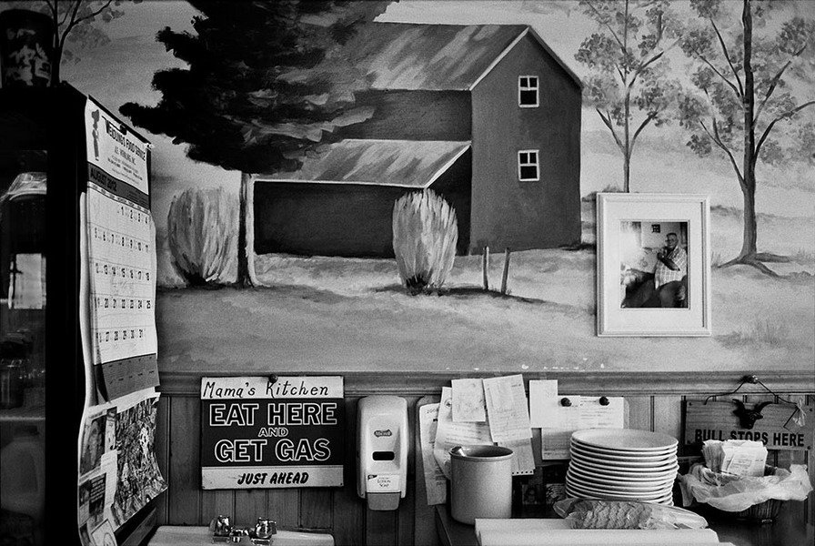 Mama's Kitchen,  Elkins, West Virginia, 2012 : SEEN AND FELT: Appalachia, 2012 : SUSAN MAY TELL: Photographs of Space, Silence & Solitude