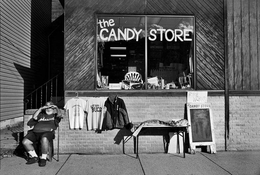 The Candy Store, Johnstown, Pennsylvania, 2012 : SEEN AND FELT: Appalachia, 2012 : SUSAN MAY TELL: Photographs of Space, Silence & Solitude