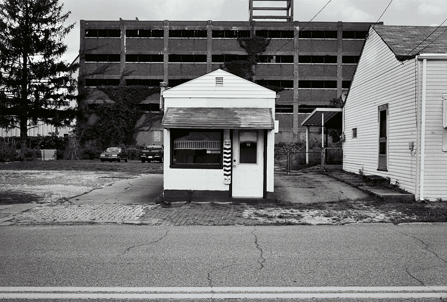 Barbershop, Wheeling, West Virginia, 2012 : SEEN AND FELT: Appalachia, 2012 : SUSAN MAY TELL: Photographs of Space, Silence & Solitude