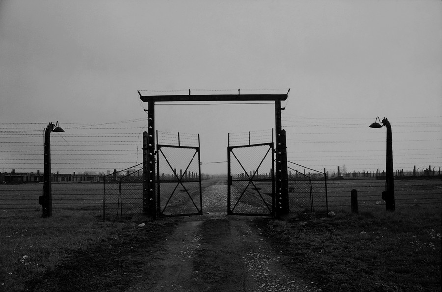 Untitled 02 : A Requiem: tribute to the spiritual space at Auschwitz : SUSAN MAY TELL: Photographs of Space, Silence & Solitude