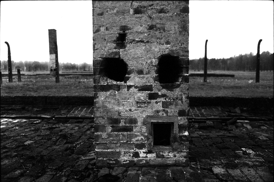 Untitled 07 : A Requiem: tribute to the spiritual space at Auschwitz : SUSAN MAY TELL: Photographs of Space, Silence & Solitude