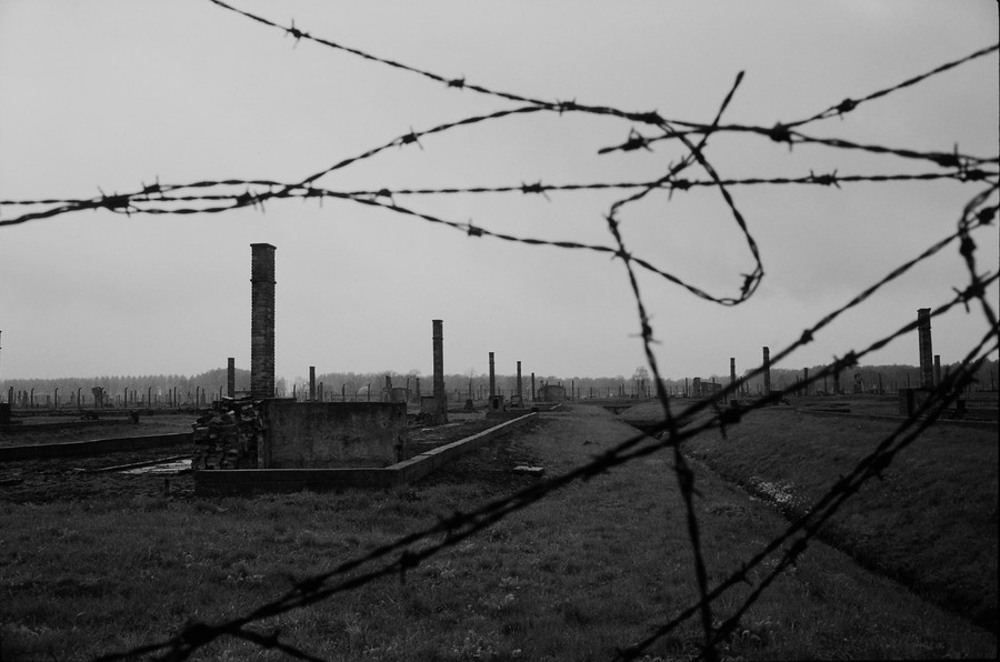 Untitled 11 : A Requiem: tribute to the spiritual space at Auschwitz : SUSAN MAY TELL: Photographs of Space, Silence & Solitude