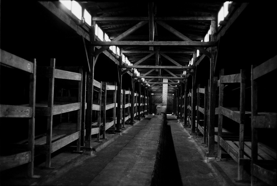 Untitled 09 : A Requiem: tribute to the spiritual space at Auschwitz : SUSAN MAY TELL: Photographs of Space, Silence & Solitude
