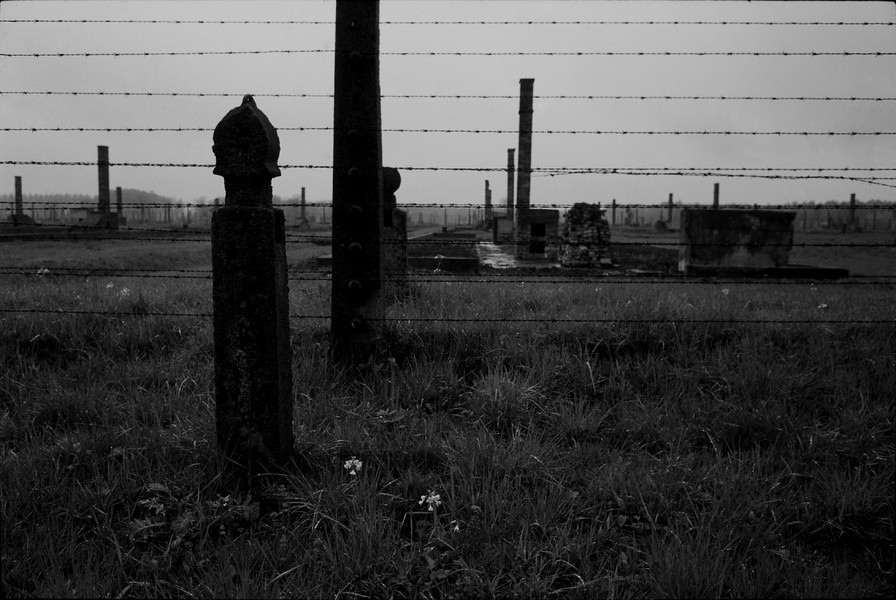 Untitled 03 : A Requiem: tribute to the spiritual space at Auschwitz : SUSAN MAY TELL: Photographs of Space, Silence & Solitude