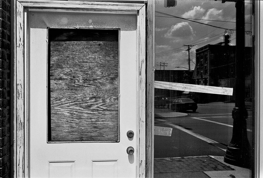 Wilkinsburg Reflected, Wilkinsburg, Pennsylvania, 2012 : SEEN AND FELT: Appalachia, 2012 : SUSAN MAY TELL: Photographs of Space, Silence & Solitude