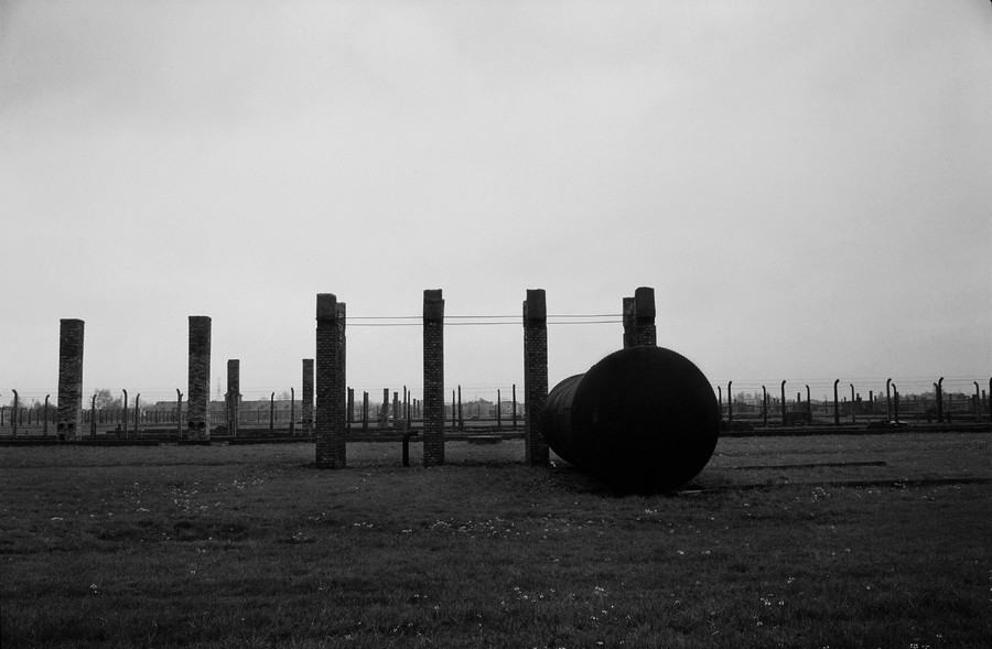 Untitled 14 : A Requiem: tribute to the spiritual space at Auschwitz : SUSAN MAY TELL: Photographs of Space, Silence & Solitude